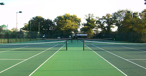 Shinfield Tennis Club developed courts